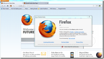 Firefox6 screen